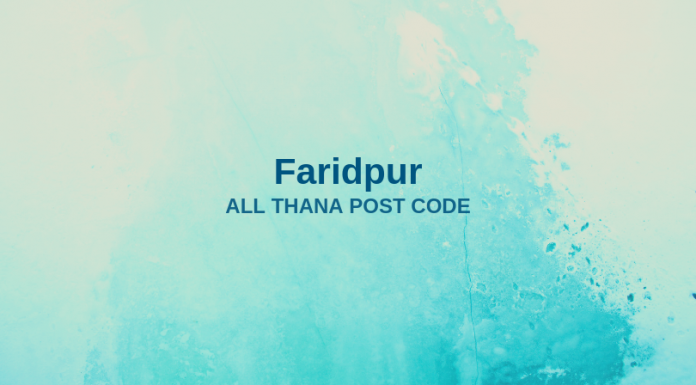 Faridpur District