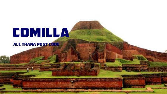 Comilla District – All Thana or Upazila Postcode or Zip Code